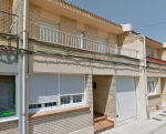 Aislamiento térmico en fachada de vivienda unifamiliar de 12 cm de espesor mediante insuflado de celulosa thermofloc con sello Natureplus.
